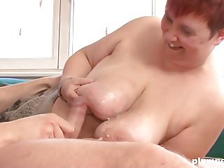 Dirty BBW Enjoys Getting Her Giant Pussy Fucked PLUMPERD.COM