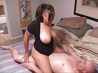Huge Tit Latina MILF Gets Butt Fucked