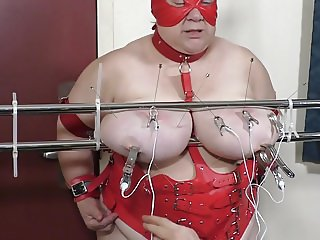 07-Aug-2017 Tit Torture of the slut slave Part 2