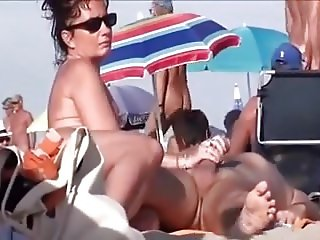Nude Beach - Exhibitionists at Cap D'Agde - Part 2