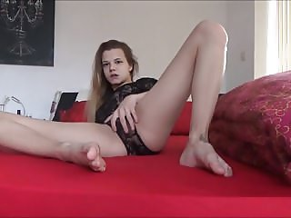 Tiny Skinny Teen with Huge Magic Wand ORGASM Teaser