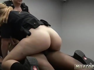 Ebony small white dick Milf Cops