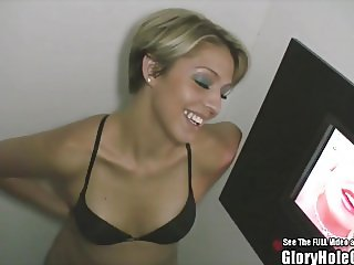 Small Tit Hottie Glamour Blonde Blowjob Whore