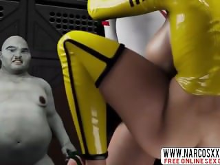 Anime 3D Hentai Female Crew Of Space Slave Battleship Amado_003