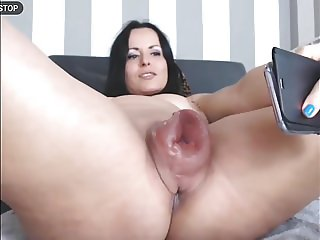 Pussy pumping with vacuum pump #3