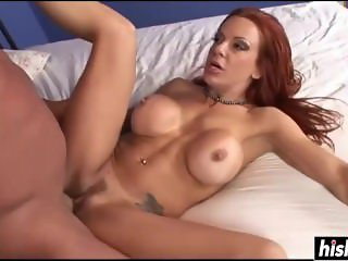Incredible redhead loves his big penis