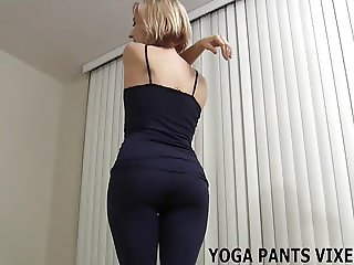 Be a good boy and watch me do my yoga JOI