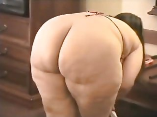 A good BBW get her big ass naked for us