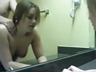 Cute Girl Fucked In The Bathroom