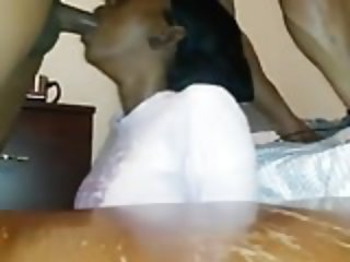 Throatfuck and deep cumshot