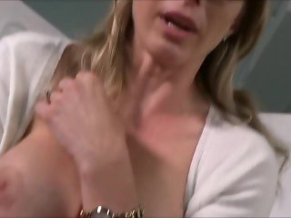 Blonde Milf Blackmailed Into Eating Ass & Fucking - Cory Chase -Bad Sponsor