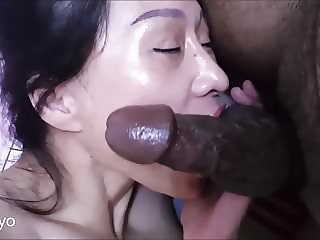 Asian mature godly sucking skills