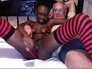 Black Asshole on Webcam