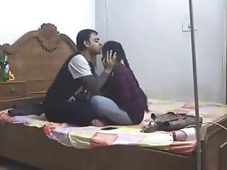 Indian Cheating Gf Enjoying With Bf's Friend