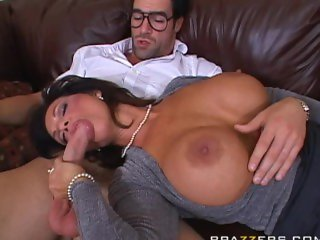 Hot Milf with nerd