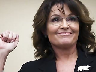 Sarah Palin Jerk Off Challenge