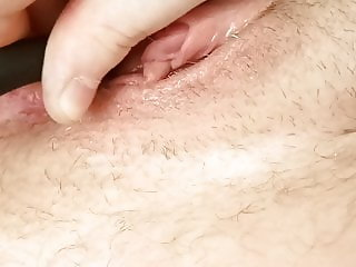 playing with my dripping wet pussy