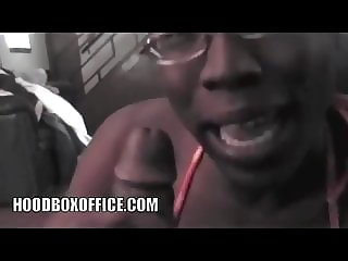 Crazy African Tenn Bits and Suck Fat Cock in Pastors House