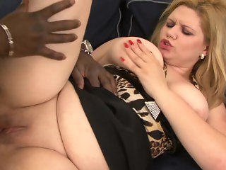 MASTERS OF MILF BLONDE MILF FUCKED IN ASS INTERRACIAL ANAL BIG BOOB