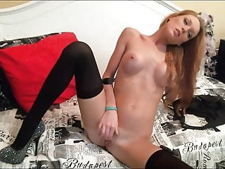 Dirty Dance Cum On Diamond-Studded High Heels
