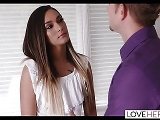 LoveHerFeet - Stunning Jaye Summers Lets Me Cum On Her Feet