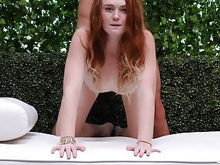 Gorgeous Pale Redhead Amateur Has Sex During Audition