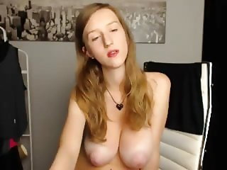 tits on cam