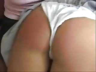 cheerleader panty spanking wedgie