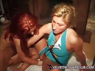 Velvet Swingers Club party Real amateur slut wives fucking
