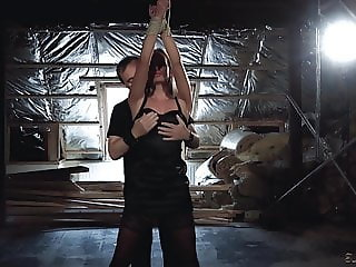 Victoria Pure tied up in sensual BDSM