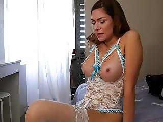 Ashley Alban Step Mom Shows Off New Clothes JOI