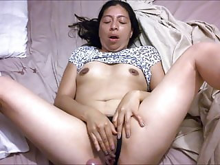 Mexican wife sucking cock gets fucked
