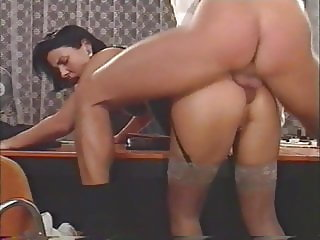 Boss fucks his hot secretary