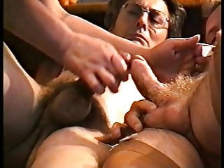 Vintage Amateur-Bi-Sex in Stockings (1993), FMCD