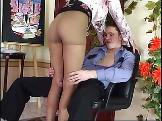Horny russian mature seduce police officer - Helena
