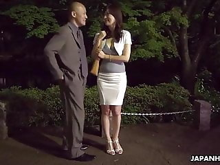 Japanese housewife, Noeru Mitsushima is dating and fucking m