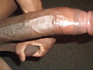 Black Cock faggot training