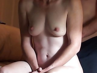 Sexy Shy MILF Has Strong Clenching Orgasm