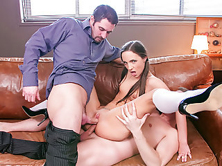 LETSDOEIT - Dirty Teen Student DP Fucked at School