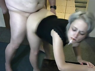 Smoking fetish doggy fuckers