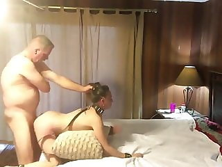 Submissive WIfe Pounded Hard By Her Boss On Business Trip