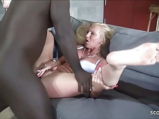 German Kacy Kisha Fuck by Huge Cock Freddy Gong no Condom