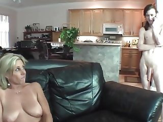 Real stepmom seduces her herd son