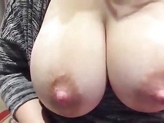 big tits mom squirts milk