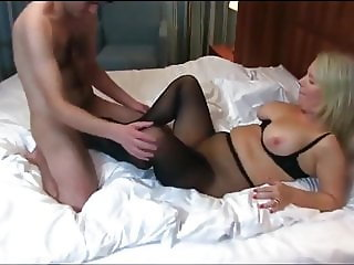 Shameless Busty Mature Horny MILF Seduces Young & Shy Boy