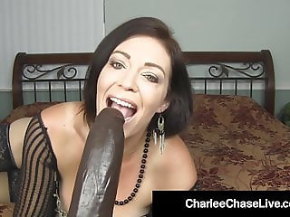 Top Heavy Milf Charlee Chase Stretches Her Mature Muff !