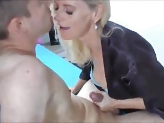 Amazing amateur MILF Seduces Young guy & fuck