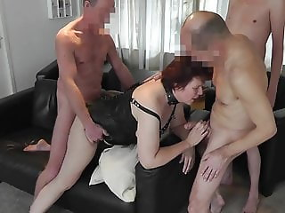 Wife sharing with delicious dutch sexaddicted housewife