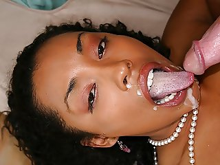 Ebony delight, Donna Red likes to fuck her white neighbor