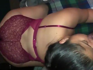 Thick Big Ass latina sucks bbc bull while boyfriends away